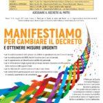 Manifestazione/Presidio di tutti i sindacati a Torino del 9 giugno per cambiare il decreto